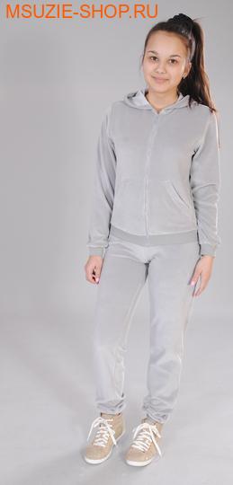 Милашка Сьюзи куртка+брюки. 122 серый ростКомплекты<br><br>