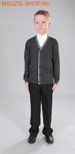 Милашка Сьюзи кардиган. 128 серый ростШкольная форма<br><br>