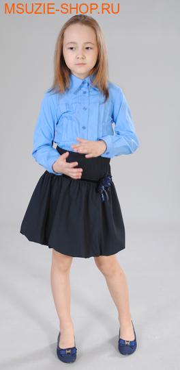 Милашка Сьюзи блузка. 122 синеголубой ростБлузки<br><br>