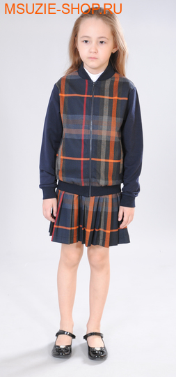 Милашка Сьюзи куртка. 104 синий ростКардиганы/жилеты<br><br>