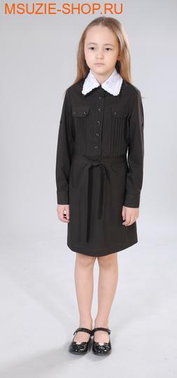 Милашка Сьюзи платье. 122 коричневый ростПлатья/фартуки <br><br>