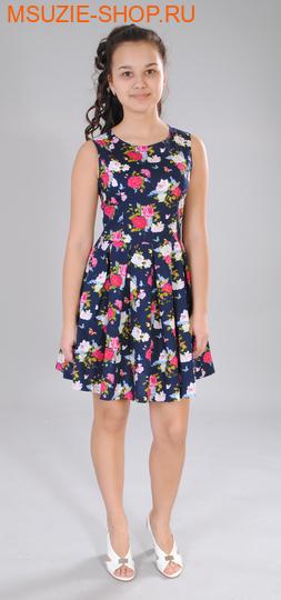 Милашка Сьюзи платье. 110 синий (розы) ростПлатья <br><br>