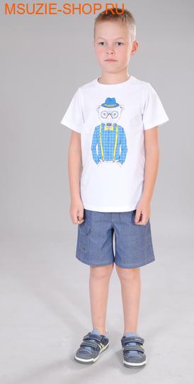 Милашка Сьюзи футболка. 104 белый ростДжемпера, рубашки, кофты<br><br>