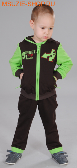 Милашка Сьюзи куртка+брюки+футболка. 104 коричневый ростКостюмы <br><br>