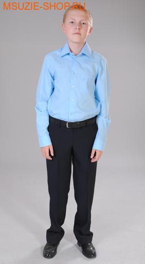 Милашка Сьюзи сорочка. 146 голубой ростШкольная форма<br><br>
