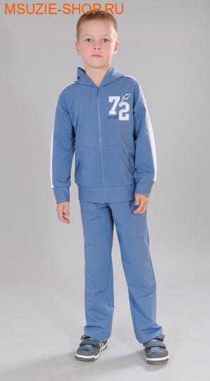 Милашка Сьюзи куртка+брюки. 122 серо-голубой ростКостюмы <br><br>