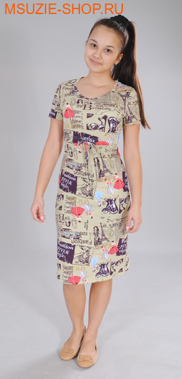 Милашка Сьюзи платье. 40/164 бежевый ростПлатья <br><br>