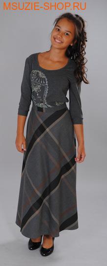 Милашка Сьюзи юбка. 158/40 серый (клетка) ростБрюки, юбки  <br><br>