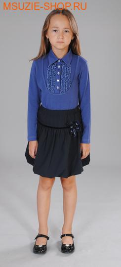 Милашка Сьюзи блузка. 122 синий ростБлузки<br><br>