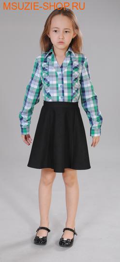 Милашка Сьюзи блузка. 128 зеленый ростБлузки<br><br>