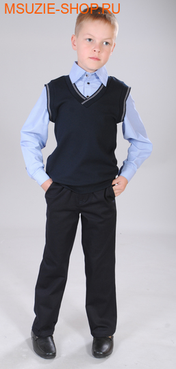 Милашка Сьюзи сорочка 2 в 1. 122 тем.синий ростШкольная форма<br><br>