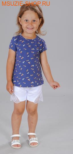 Милашка Сьюзи блузка. 104 индиго ростДжемпера, рубашки, кофты<br><br>