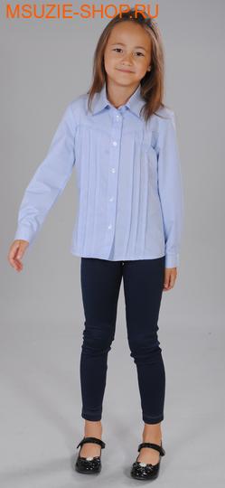 Милашка Сьюзи блузка для полных. 122/64 клетка ( 2 полн) ростБлузки<br><br>