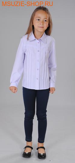Милашка Сьюзи блузка для полных. 122/64 сирень ( 2 полн) рост