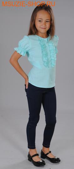 Милашка Сьюзи блузка. 128 бирюза рост