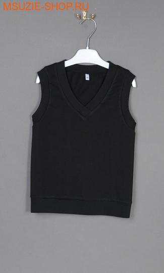 Милашка Сьюзи жилет. 128 черный ростДжемпера, рубашки, кофты<br><br>
