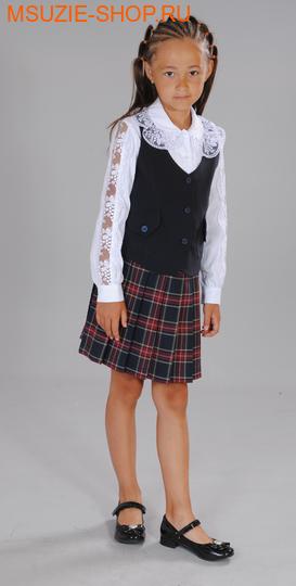 Милашка Сьюзи жилет+юбка. 122 тем.синий росткостюмы<br><br>