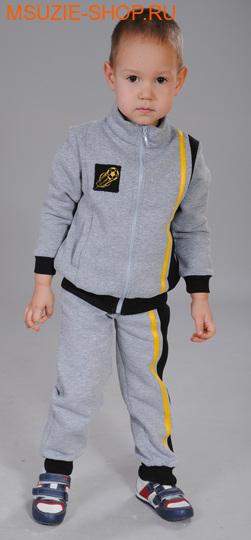 Милашка Сьюзи куртка+брюки. 104 серый ростКостюмы <br><br>