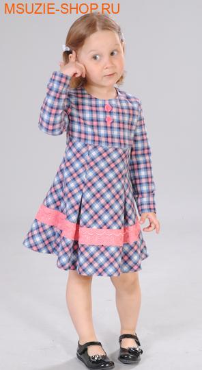 Милашка Сьюзи платье. 92 мелкая клетка ростПлатья <br><br>