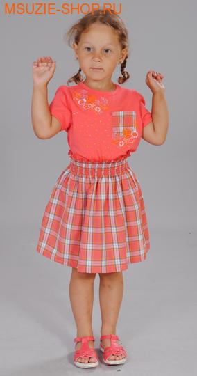 Милашка Сьюзи блузка+юбка. 104 коралл ростКомплекты<br><br>