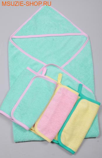 Милашка Сьюзи уголок+3 полотенца. уголок+3 полотенца зеленый ростОдежда для дома<br><br>