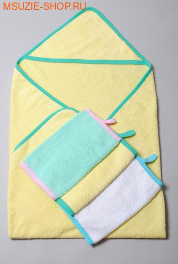 Милашка Сьюзи уголок+полотенце 3шт. уголок+3 полотенца желтый ростОдежда для дома<br><br>
