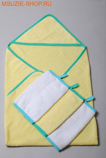 Милашка Сьюзи уголок+полотенце 3 шт. уголок+ 3 полотенца  желтый рост