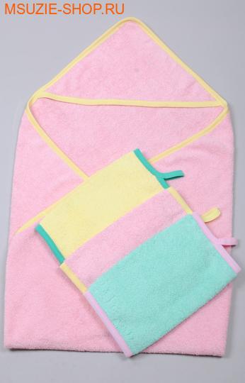 Милашка Сьюзи уголок+полотенце 3 шт. уголок+3 полотенца розовый рост