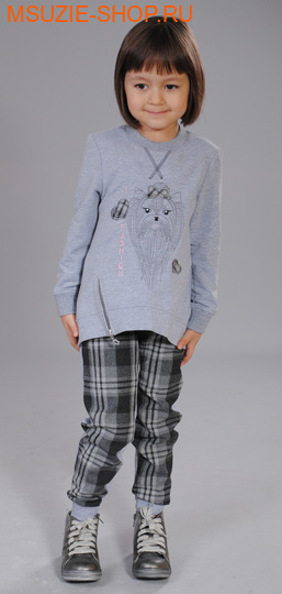 Флер де Ви брюки. 86 серый ростосень-зима<br><br>