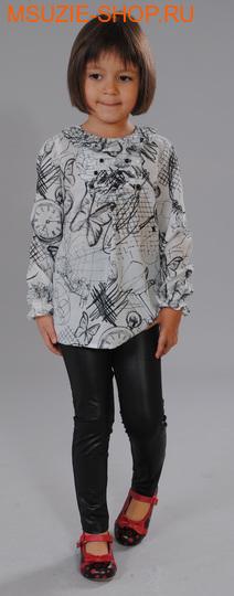 Флер де Ви блузка. 122 черно-белый ростосень-зима<br><br>
