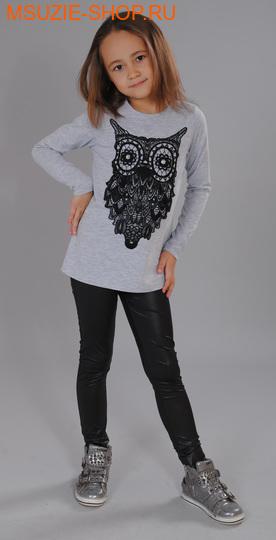 Милашка Сьюзи блузка. 110 серый ростосень-зима<br><br>