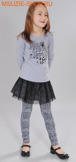 Флер де Ви блузка. 98 серый ростосень-зима<br><br>
