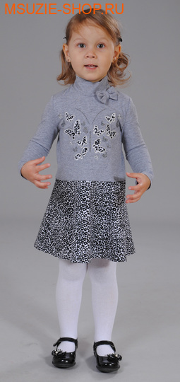 Флер де Ви платье. 86 серый ростосень-зима<br><br>