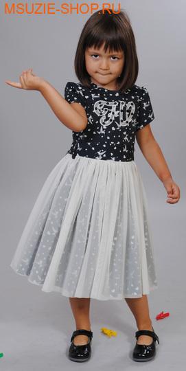 Милашка Сьюзи платье. 104 молочный ростосень-зима<br><br>