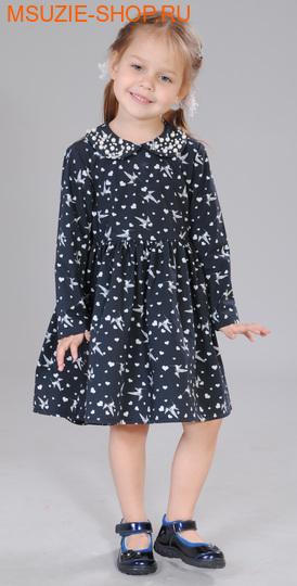 Флер де Ви платье. 104 черный ростосень-зима<br><br>