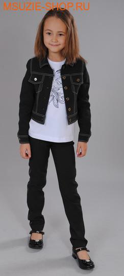 Флер де Ви брюки. 104 черный ростосень-зима<br><br>