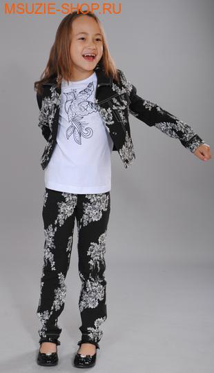Флер де Ви брюки. 104 черно-белый ростосень-зима<br><br>