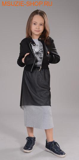 Флер де Ви юбка. 110 серый ростосень-зима<br><br>