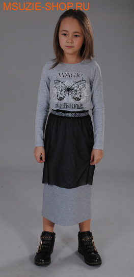 Флер де Ви блузка. 116 св.серый ростосень-зима<br><br>
