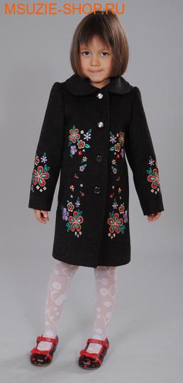 Флер де Ви пальто. 110 коричневый ростосень-зима<br><br>
