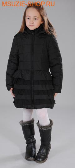 Флер де Ви пальто ЗИМА. 110 черный ростосень-зима<br><br>