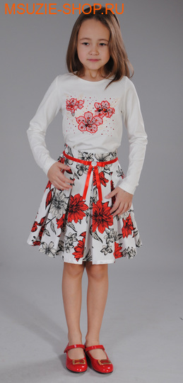 Флер де Ви блузка. 104 молочный ростосень-зима<br><br>
