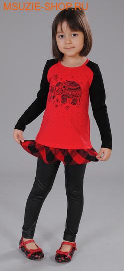 Флер де Ви туника. 98 красный ростосень-зима<br><br>
