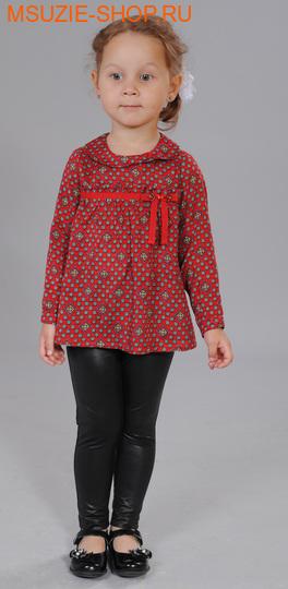 Флер де Ви блузка. 92 красный ростосень-зима<br><br>