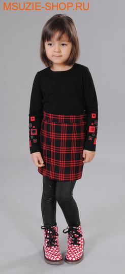 Флер де Ви блузка. 104 черный ростосень-зима<br><br>