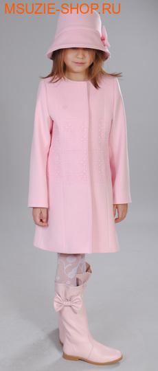Флер де Ви пальто+шляпа. 104 розовый ростосень-зима<br><br>