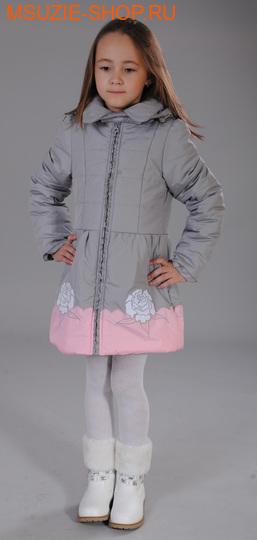 Флер де Ви пальто ОСЕНЬ. 104 серый ростосень-зима<br><br>