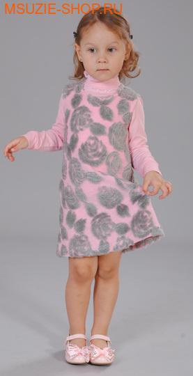 Флер де Ви сарафан+блузка. 104 розовый ростосень-зима<br><br>