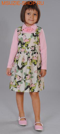 Флер де Ви блузка+сарафан. 86 розовый ростосень-зима<br><br>