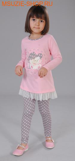 Флер де Ви туника. 104 розовый ростосень-зима<br><br>